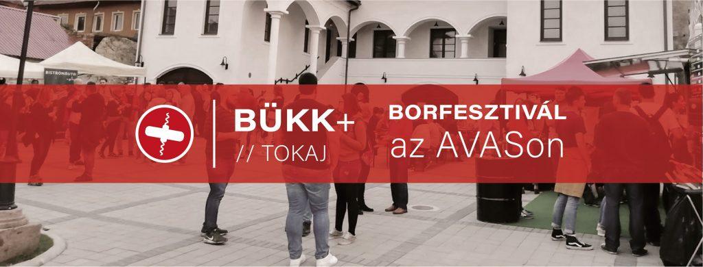 Bükk + Tokaj - Borfesztivál az AVASon