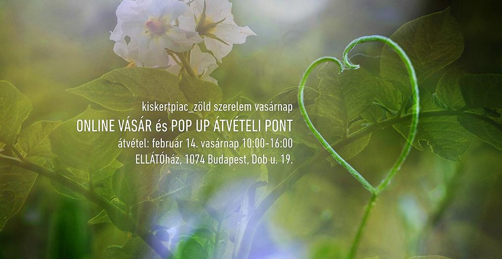 kiskertpiac zöld szerelem vasárnap popup 2021